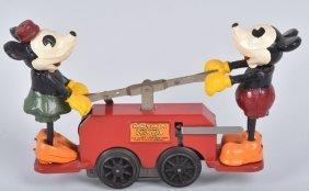 Lionel Windup Mickey & Minnie Handcar