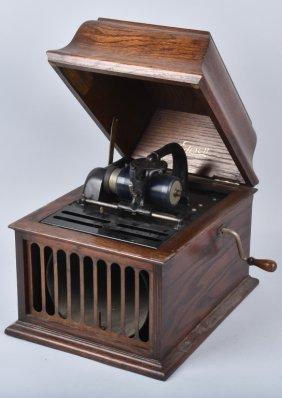 Edison Amberola Cylinder Phonograph