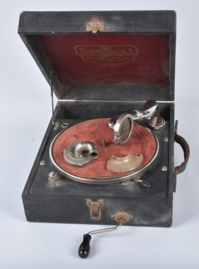 Imperial Portable Phonograph, Vintage