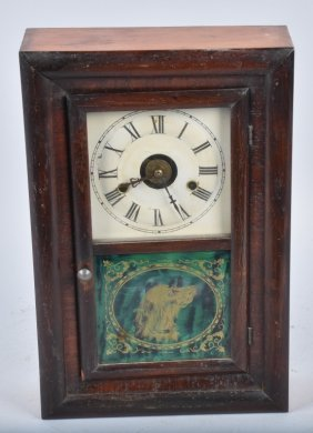 Antique Seth Thomas Ogee Clock & Alarm