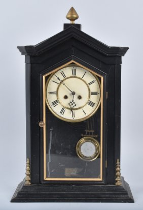 Vintage Wood Shelf Clock