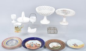 Large Lot Of Glassware, Milk Glass & More