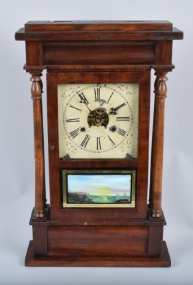 Antique Harris & Wilcox Shelf Clock