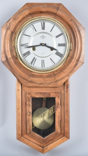 Helmbrand Vintage Regulator Wall Clock