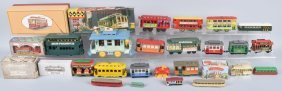 Lot Of Trolley Toys