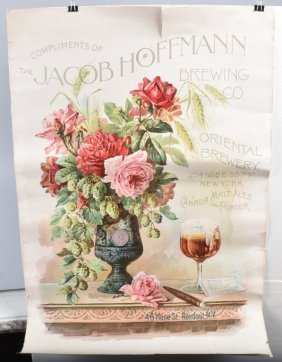 Early Jacob Hoffman Brewing Co. Poster