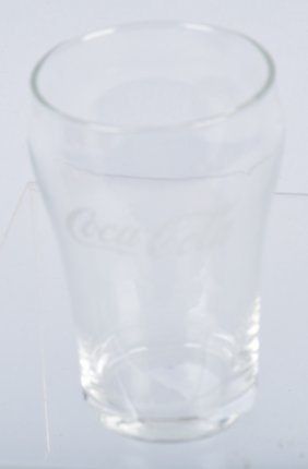 1920s Coca Cola Bell Style Glass