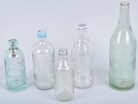 Vintage Pepsi Bottles & More