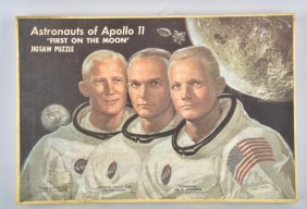 Mb Astronauts Of Apollo 11 Puzzle Mib