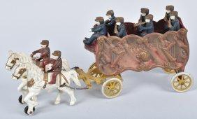 Kenton Cast Iron Overland Circus Band Wagon