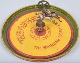 The Whirling Jockey Race Game
