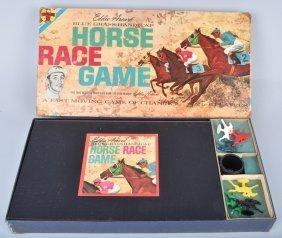 Transogram Eddie Arcaro Horse Race Game