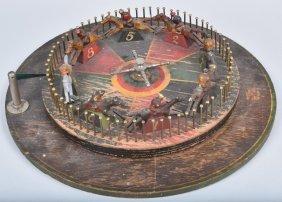 Mason Co. Horse Race Roulette Wheel