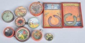 Lot Of Vintage Horse Race Dexterity Puzzles