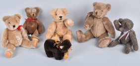 Lot Six Collector Teddy Bears