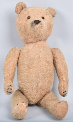 """14"""" Antique Mohair Teddy Bear"""