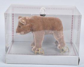 Steiff Musuem Bear On Wheels 0085/12