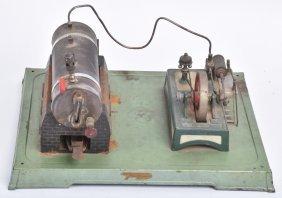 Fleischmann Steam Engine W/ Accessory