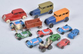 Lot Of Tootsietoy Cars & More