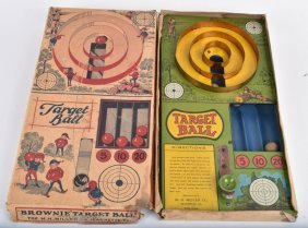 Brownie Target Ball Game W/ Box