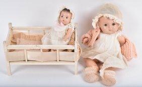 Two Madame Alexander Dionne Quints Dolls