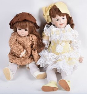 Two Large Artist Dolls