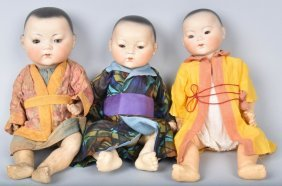 Three Am 353 Oriental Dolls