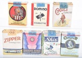 Lot Of 7 Cigarette Packs