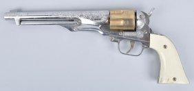 Hubley Colt 45 Cap Gun W/ Bullets