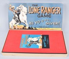 1938 Lone Ranger Hi Yo Silver W/ Box