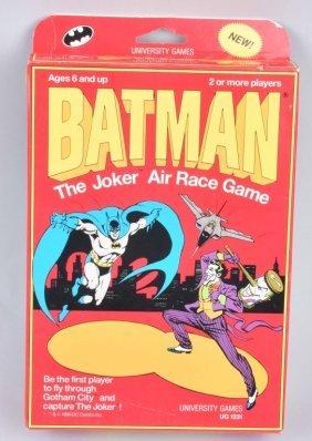 1990 Batman The Joker Air Race Game Mib