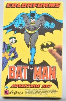 1989 Batman Colorforms Factory Sealed