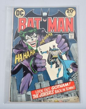 Dc Batman #251 Classic Neal Adams Cover. Fn