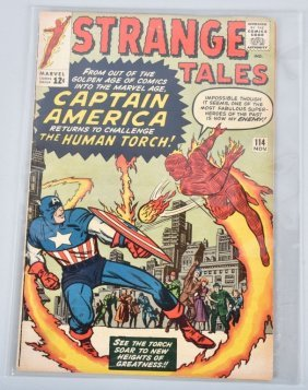 Marvel Strange Tales #114 Key 1st Captain America