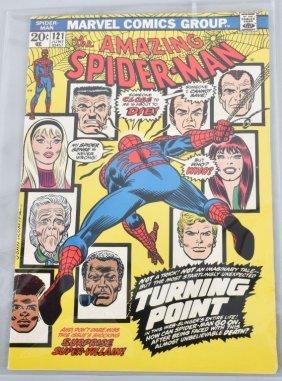 Marvel Amazing Spiderman #121 Key Vf