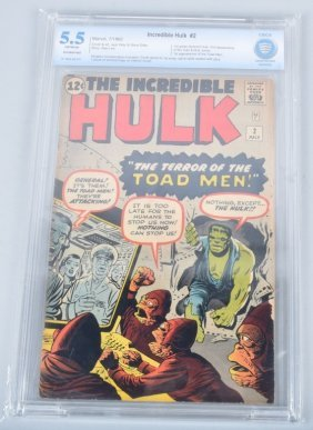 Marvel Incredible Hulk #2 Cbcs 5.5