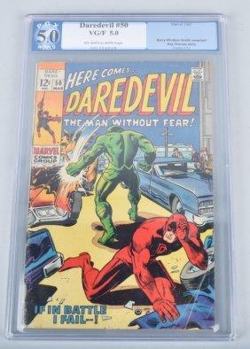 Marvel Daredevil #50 Pgx 5.0