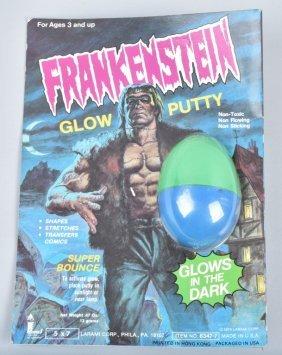 1970s Larami Frankenstein Glow Putty Moc