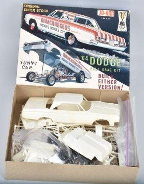 J0-han 1964 Dodge Drag/stock Model Kit Mib