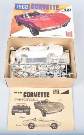 Mpc 1968 Corvette 427 Convertible Model Kit
