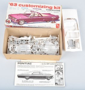 Amt 63 Pontiac Bonneville Customizing Model Kit