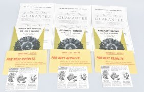 Renwall Visible Airplane Engine Papers & More