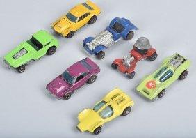 Hot Wheels Redline Lot Of 7 1973 Enamels