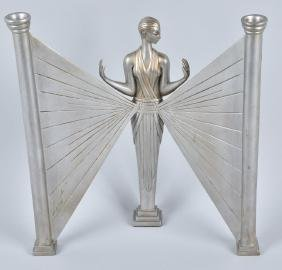 SEVENARTS ART DECO STYLE ERTE CAST METAL FIGURE