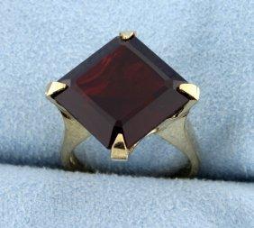 Garnet Ring