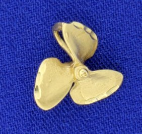 Boat Propeller Or Charm