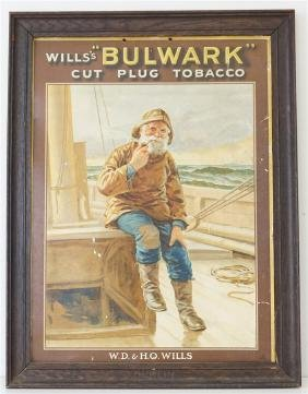 WILLS TOBACCO GENERAL STORE ADVERTISING