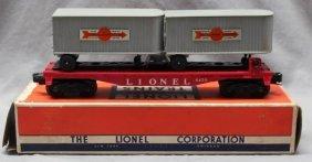 Lionel Trains Cooper-jarrett Truck Trailers Flat Car