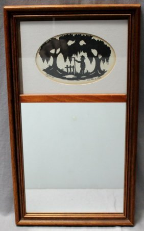 Clay Rice Silhouette Mirror