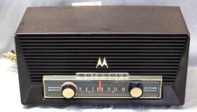 1958 Motorola Model 6t26m 6 Tube Dual Speaker Radio